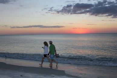 Strand i Naples, Florida