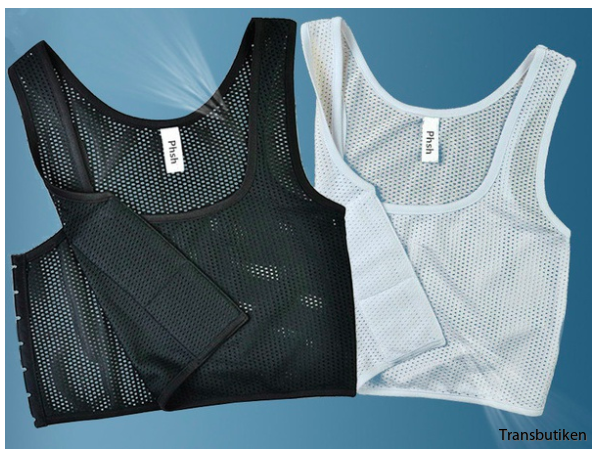 Breathable mesh binder