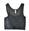 Breathable mesh - halvkropp - XXL - Svart