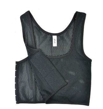 Breathable mesh - halvkropp - S - Svart