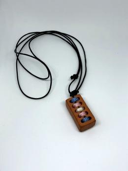 Halsband tegelsten - Beställningsvara! - One Size