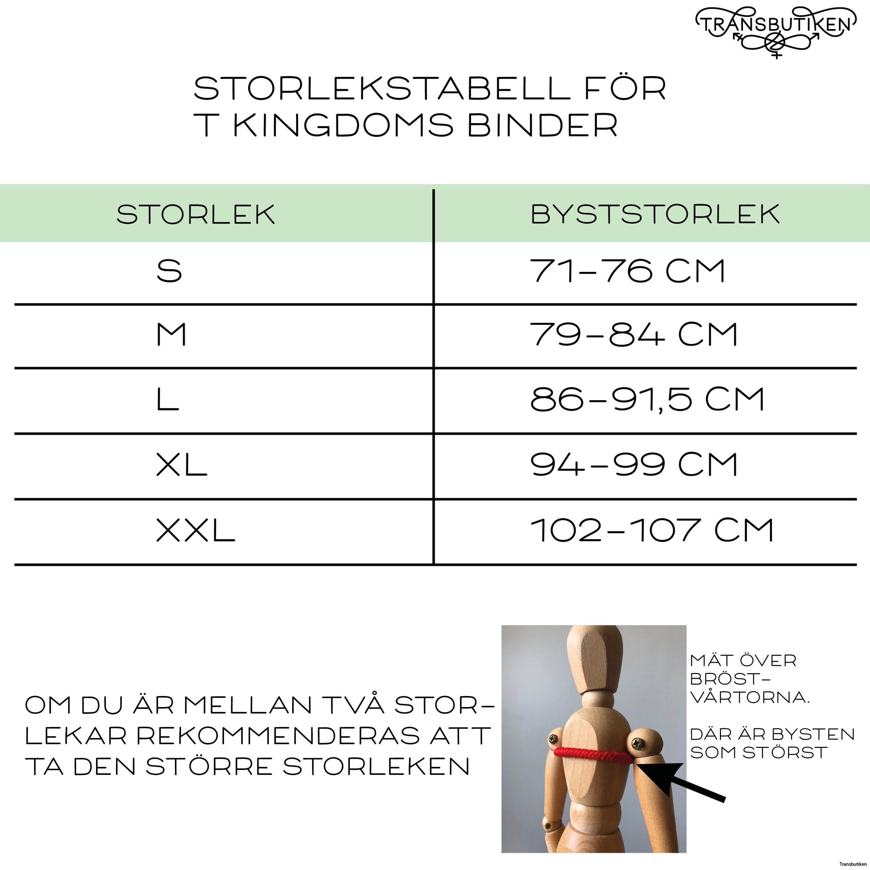 Bindertabell T kingdom