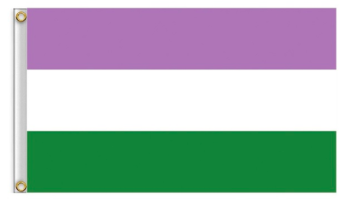 Genderqueer flagga 90x150 - Onesize
