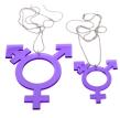Halsband transsymbol - By Martinsdotter