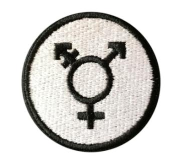 Transsymbol tygmärke - Onesize