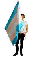 Transflagga 90x150 cm