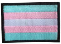 Transflagga tygmärke