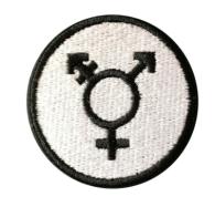 Transsymbol tygmärke