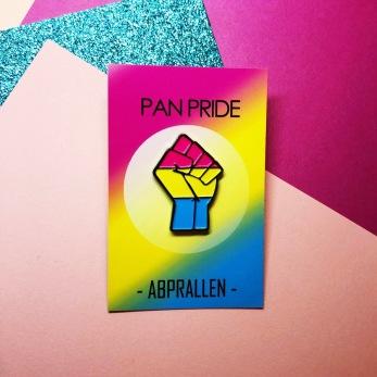 Pansexuellknytnäve pin - Onesize