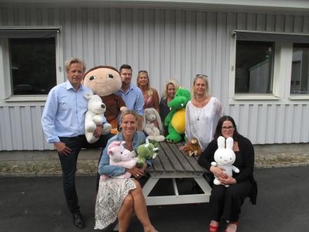 Janne, Ulrika, Richard, Camilla, Alexandra, Anna och Jennifer
