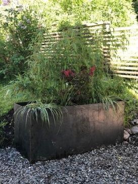 Planteringslåda i Cortén