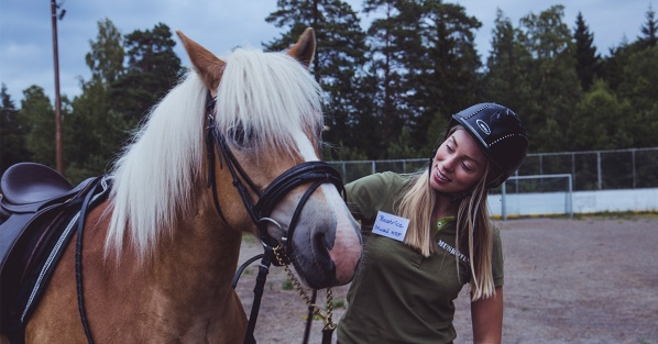 Ponnyridning på Musködagarna