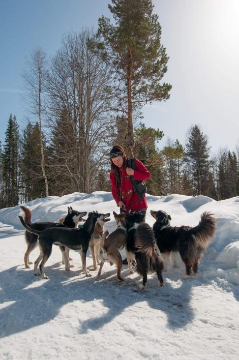 Jag och sex av min bästa vänner. Foto: Alex Poulsen