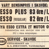 SN - bensin Esso