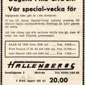 SN - bil Hallenbergs