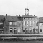 Järnvägsstn - före 1888