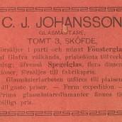 Johansson - 1903