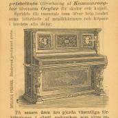 Johanssons orgelfabrik - 1903 (2)