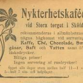 Nykterhetskaféet - 1903