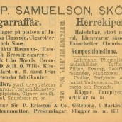 Samuelson - 1903
