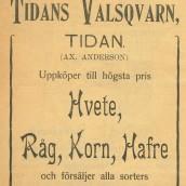 Tidans valskvarn - 1903