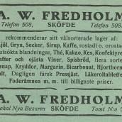 Fredholm - 1914