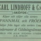 Lindhoff - 1914