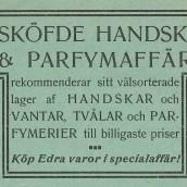 Sde handskaffär - 1914