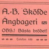 Sde ångbageri - 1914