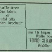 Strandqvist - 1914