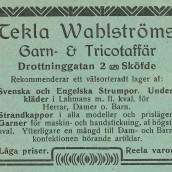 Wahlström - 1914