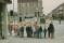 Storgatan 26 | Datumet är den 4/9-1967, dagen efter högertrafiksomläggningen och skolklasserna är ute och lär sig vett och beteende vid närmaste övergångsställe.