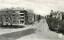 Storgatan 46 | Vi är framme och det är sig likt...  Post nr 3, breda trottoarer och till höger tre skyltar som säger; Jönköping, Falköping och Tidaholm. Inte så tokigt levererat av Skövde på 50-talet.