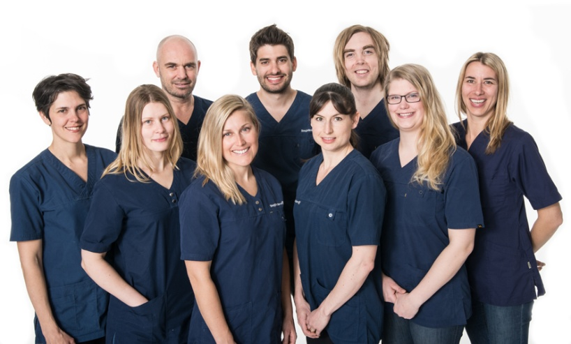 Personalen på Stegkliniken