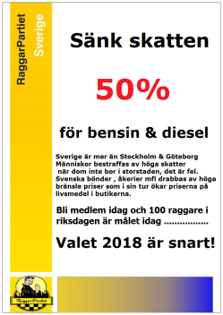 Din dyrare bensin lagom till semestern