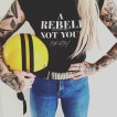 Rebell Tshirt not your baby - XXXL