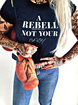Rebell Tshirt not your baby - Rebell M