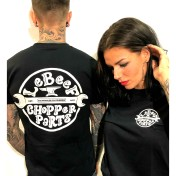 Lebeef Tshirt chopper parts unisex