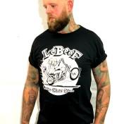 Lebeef Tshirt knucklehead black unisex