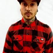 Dickies Flanell Sacramento röd/svart unisex