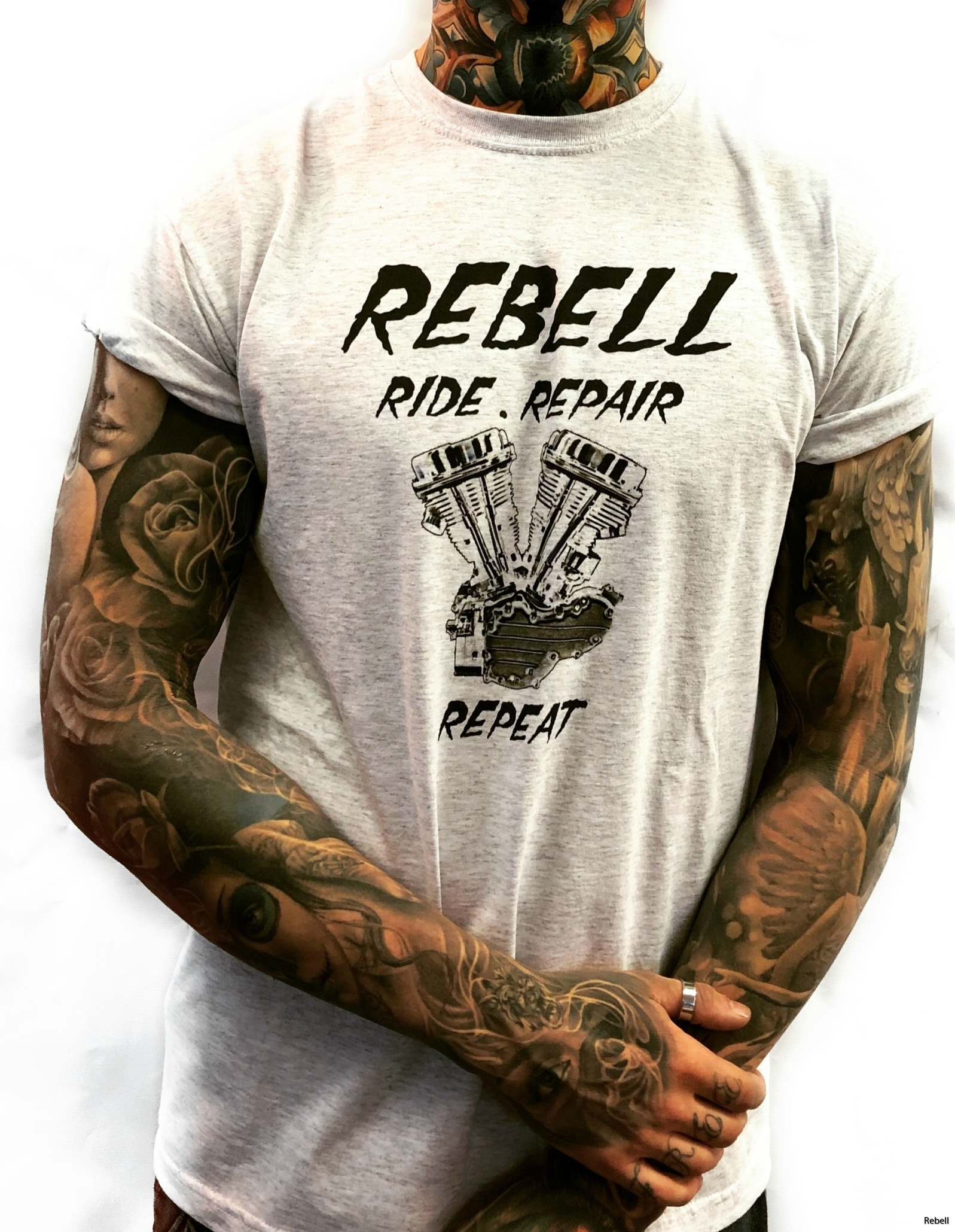 bomb rebell rebellclothes rebellskövde design tshirt rebelltshirt panheads motor