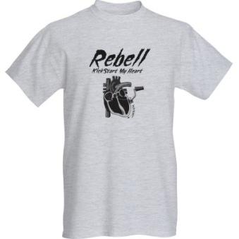 Rebell Tshirt Kickstartheart unisex - XL