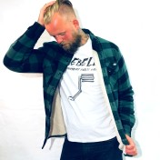 Dickies Jacka Fodrad Flanell Lansdale Pine green