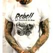 Rebell Tshirt Full Throttle Grå unisex - 3XL