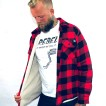 Dickies Jacka Fodrad Flanell Lansdale red/black - XS