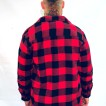 Dickies Jacka Fodrad Flanell Lansdale red/black - XXL