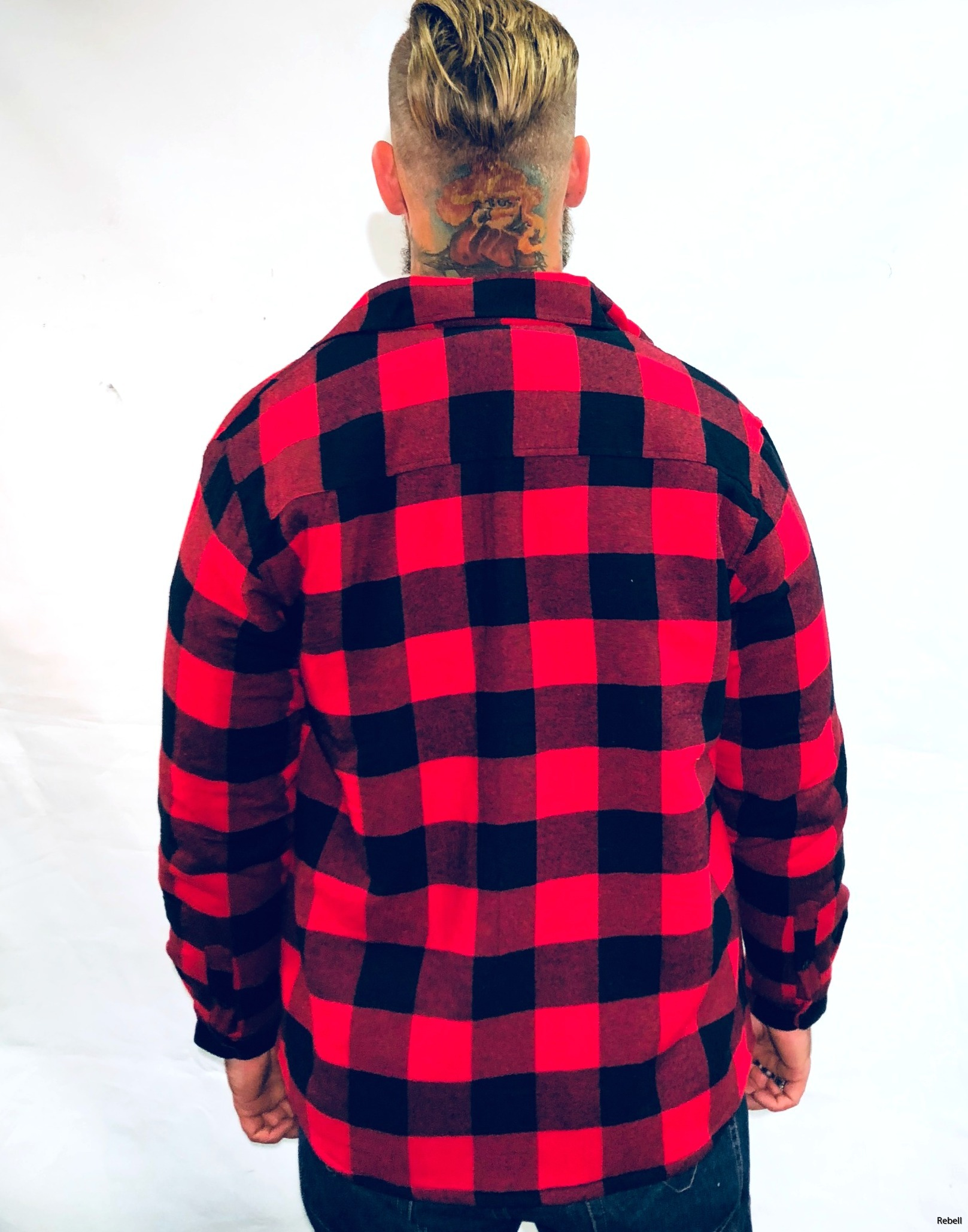 Dickies Jacka fodrad Flanell jacka rebell www.rebellclothes.se