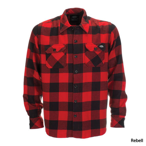 sacramento red/black rebell flanell dickies flanell rebellclothes