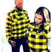 Dickies Flanell Sacramento yellow unisex - S