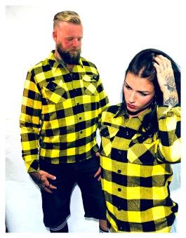 Dickies Flanell Sacramento yellow unisex - XXS